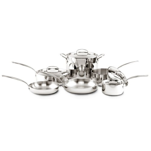 GreenPan Stainless Steel 11-Piece Cookware Set