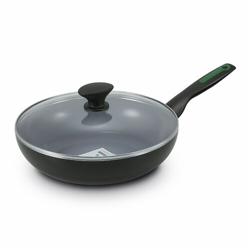 """GreenPan Rio 11"""" Covered Skillet with Lid"""