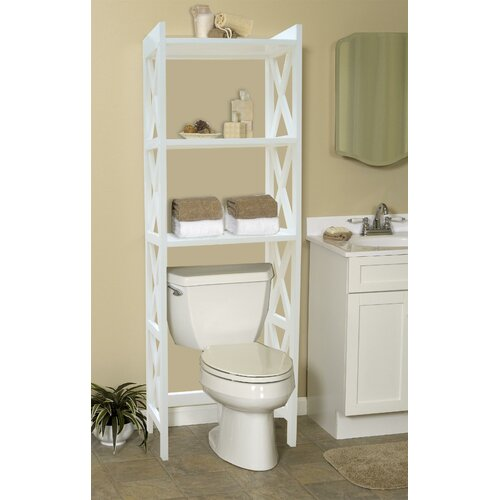 Jenlea 25 X 62 Bathroom Space Saver Free Standing Cabinet Reviews Wayfair