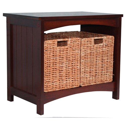 Jenlea Wood Storage Bench Reviews Wayfair