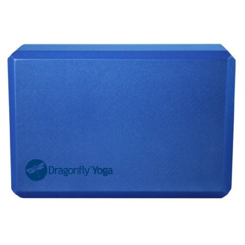 DragonFly Yoga Premium Striped Foam Block