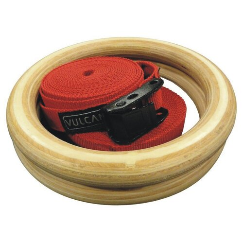 Vulcan Strength Training Systems Wooden Gymnastics Ring