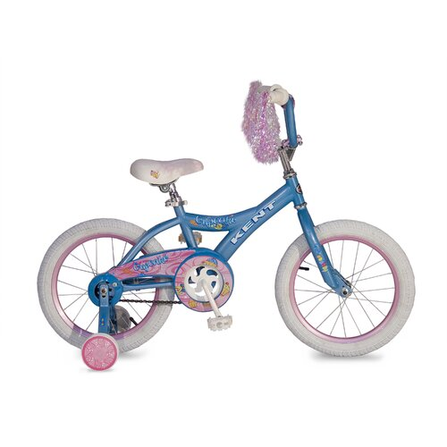 "Kent Bicycles Girl's 16"" Cupcake Cruiser Bike"