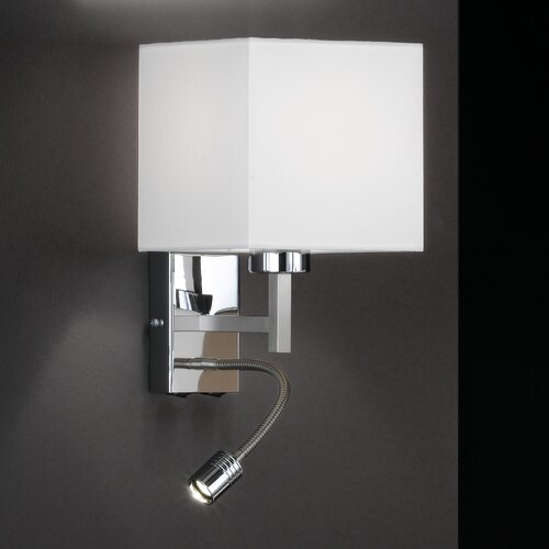 Wall Lamps With Reading Light : Honsel Celle 2 Light Wall Lamp with Reading Light
