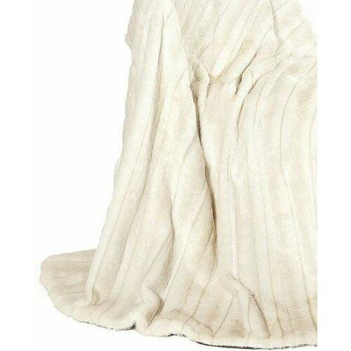 Ital Art Design Fancy Mink Fur Throw