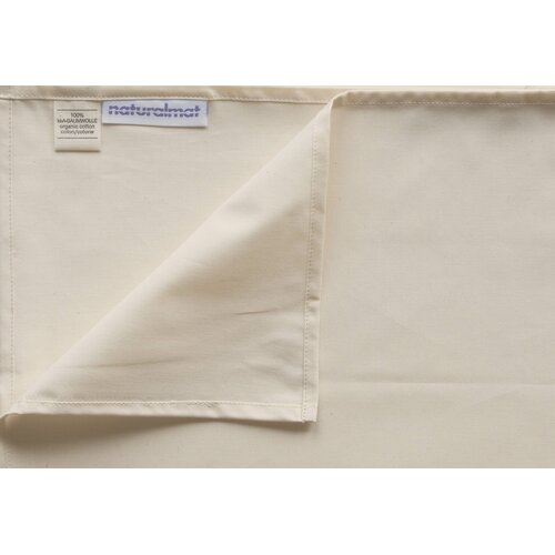 Natural Mat Crisp Organic 100% Cotton Percale Fitted Crib Sheets
