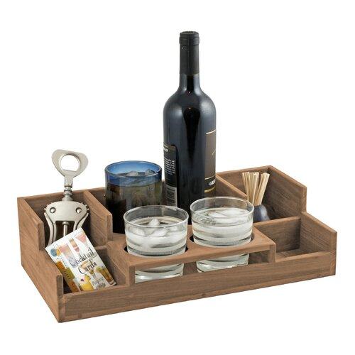 SeaTeak Wine Bar Top