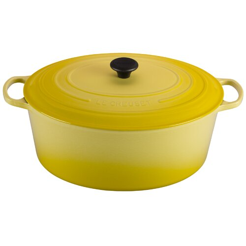 Le Creuset Cast Iron 15.5-qt. Round Dutch Oven