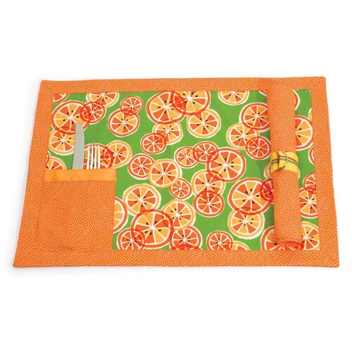 Scent-Sation Kitchen Cucina Citrus Tablemat
