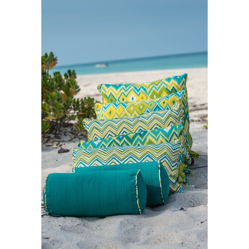 Laurie Bell Casey Key Polyester Rectangle Indoor/Outdoor Pillow