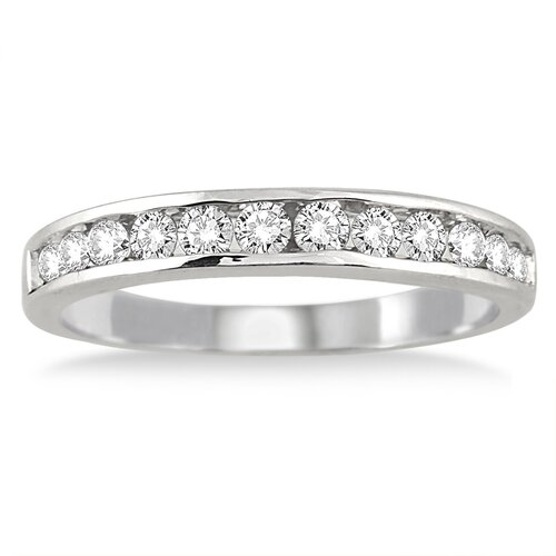 Szul Jewelry Round Cut Channel Set Diamond Band