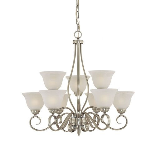 Pelham 9 Light Chandelier