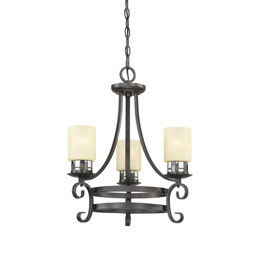 Millennium Lighting Monroe 3 Light Chandelier