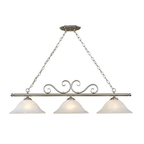 millennium lighting manchester 3 light kitchen pendant