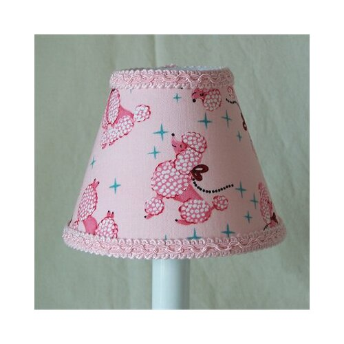 Silly Bear Lighting Prissy Poodle Table Lamp Shade