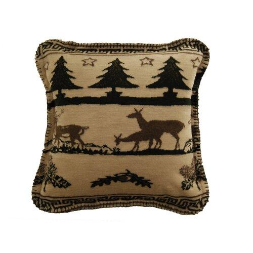 Denali Throws Acrylic / Polyester Deer Haven Pillow
