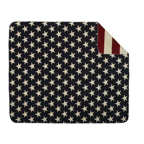 Denali Throws Acrylic Stars and Stripes Double-Sided Throw