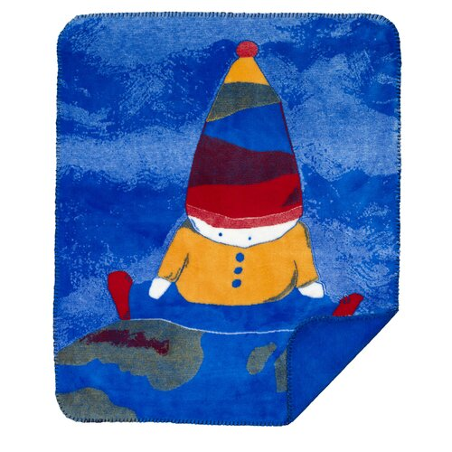 Denali Throws Acrylic Boy on Top of The World Double-Sided Throw