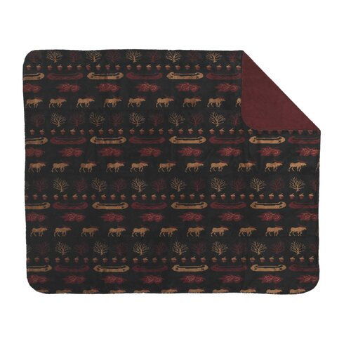 Denali Throws Acrylic Lake Double-Sided Throw