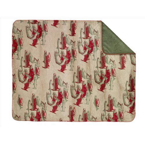 Acrylic Pacific Five Double-Sided Throw