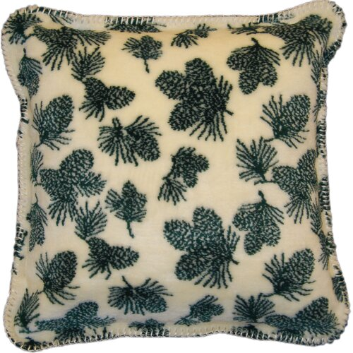 Denali Throws Acrylic / Polyester Winter Cones Pillow