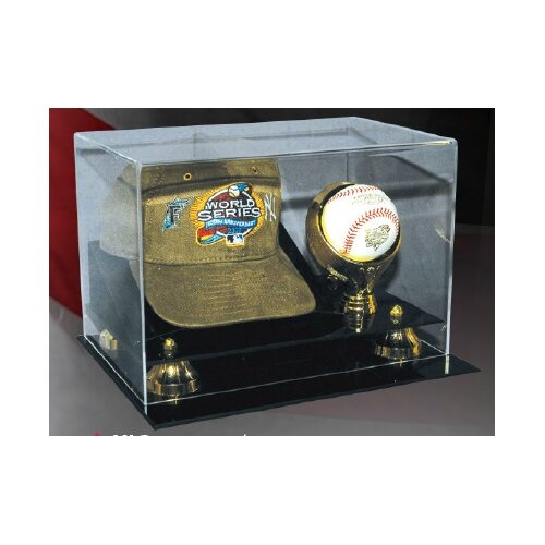 Caseworks International Cap and Baseball Display Case