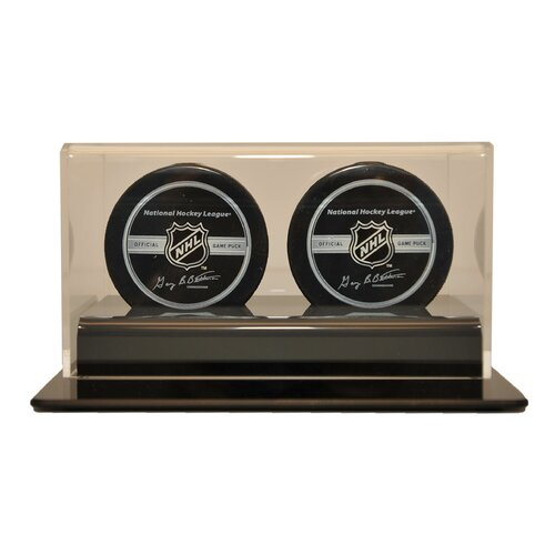 Caseworks International Double Hockey Puck Display Case