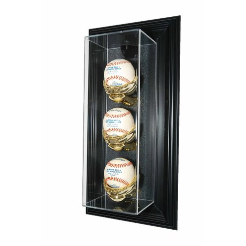 "Caseworks International Three Baseball ""Case-Up"" Display"