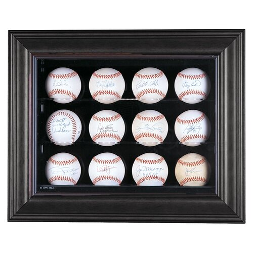 Caseworks International Twelve Baseball Display