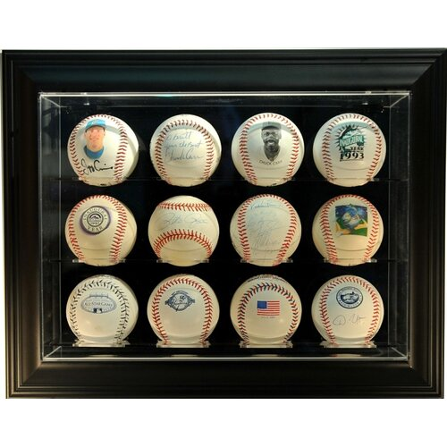 "Caseworks International Twelve Baseball ""Case-Up"" Display"