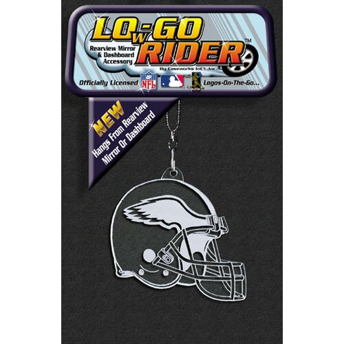 Caseworks International NFL Low-Go Rider Rearview Mirror Accessory