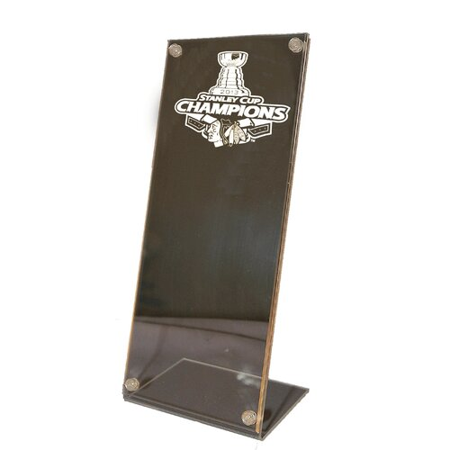 Caseworks International Chicago Blackhawks Stanley Cup Champions Stand Up Ticket Holder