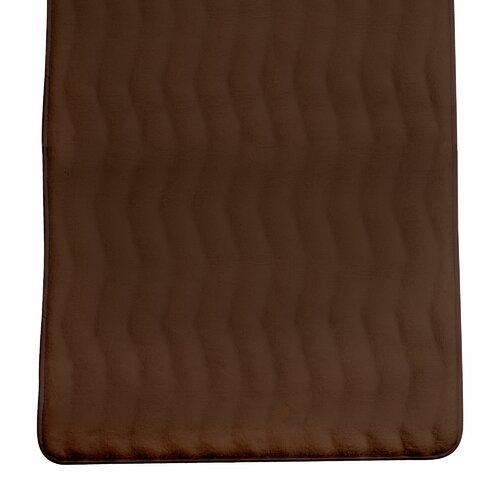 Lavish Home Memory Foam Extra Long Bath Mat & Reviews