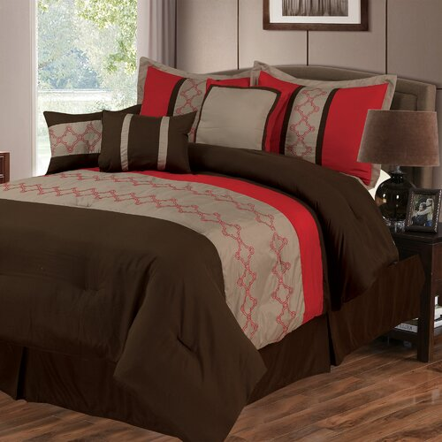 Lavish Home Molly 7 Piece Comforter Set