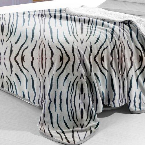 Zebra Polyester Fleece Blanket