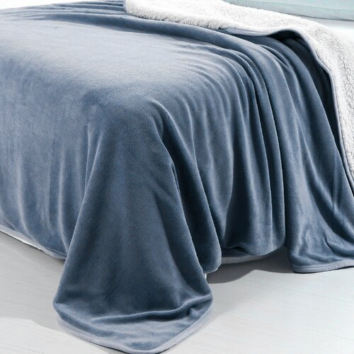 Lavish Home Polyester Fleece Blanket