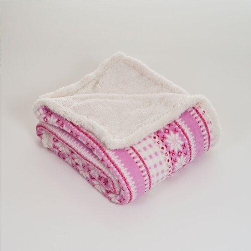 Stars Polyester Fleece Throw Blanket