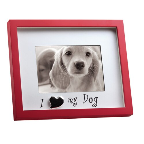 """LSC Home Shadowbox """"I Love My Dog"""" Picture Frame"""