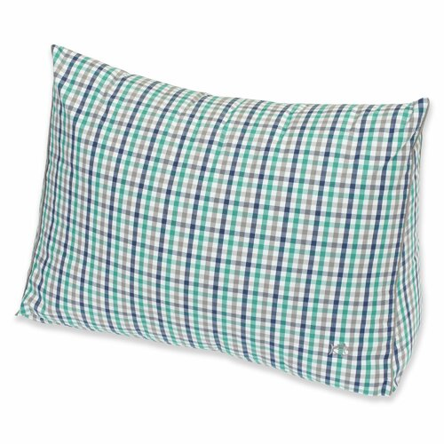 Peninsula Check Yarn Dyed Wedge Pillow