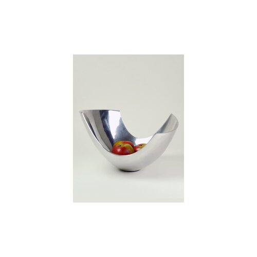 Aluminum Abstract Bowl