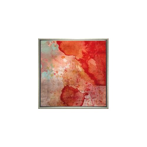 Indigo Avenue Modern Living Emerge Framed Painting Print