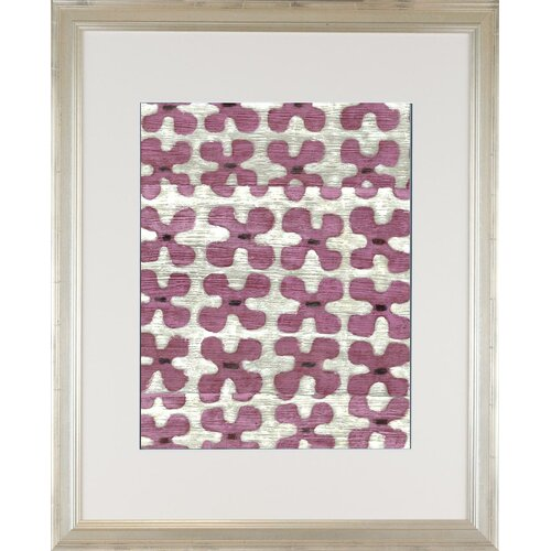 Modern Living Silk Road Ikat 3 Framed Graphic Art