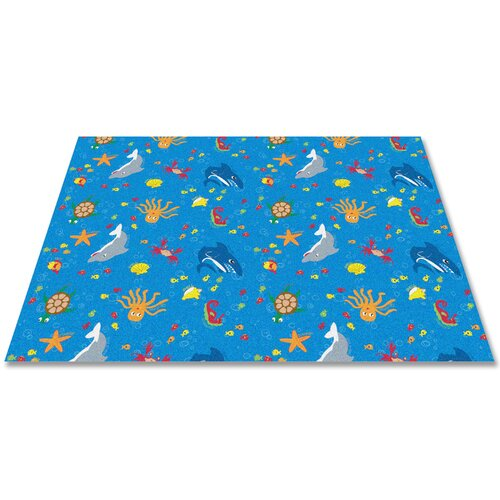 KidCarpet.com Ocean Friends Kids Rug