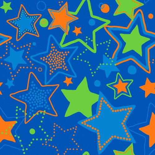 KidCarpet.com Seating Stars Kids Rug