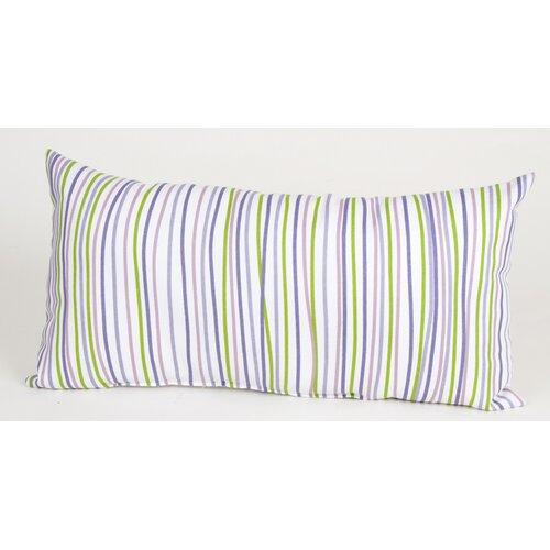 LuLu Rectangular Pillow with Stripes