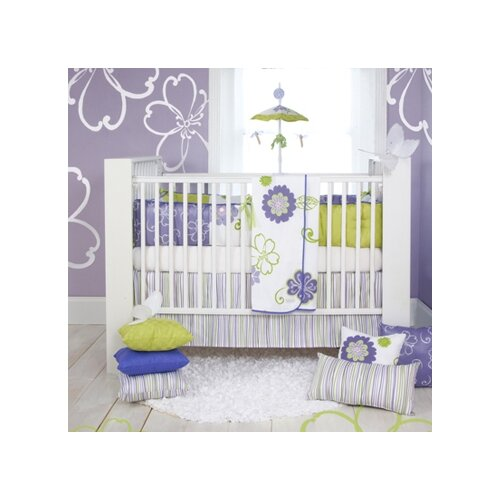 Sweet Potato by Glenna Jean LuLu 4 Piece Crib Bedding Set