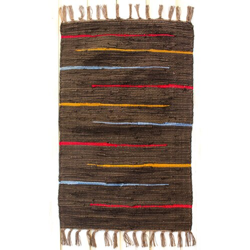 CLM Canyon Cocoa Stripe Rug