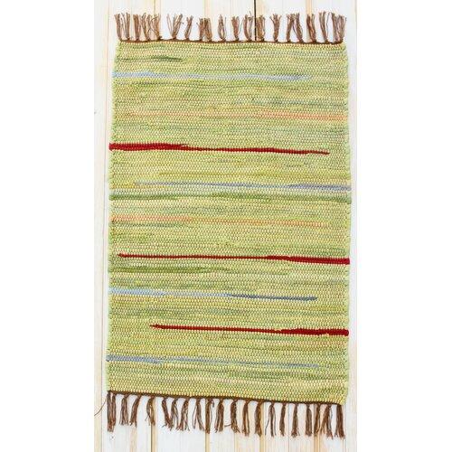 Canyon Green Stripe Rug