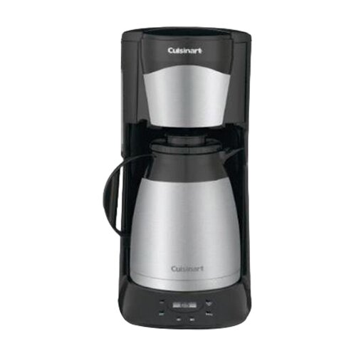 Cuisinart Chef's Classic Stainless Steel 12-Cup Programmable Thermal Coffee Maker