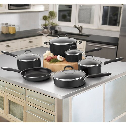 Cuisinart Advantage Nonstick 11-Piece Nonstick Aluminum Cookware Set